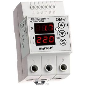 Контроль расхода электроэнергии: ограничители мощности.